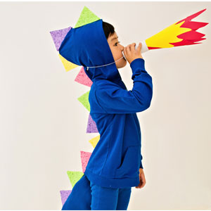 DIY No-Sew Dragon | Sensory Ninja
