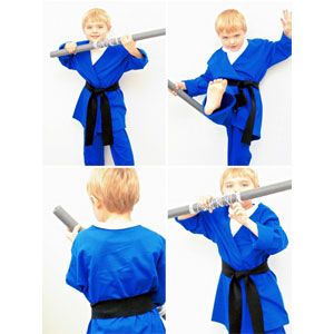 DIY No-Sew Ninja | Sensory Ninja