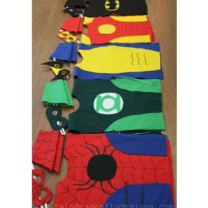 DIY No-Sew Superhero | Sensory Ninja