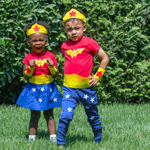 DIY No-Sew Wonder Woman | Sensory Ninja