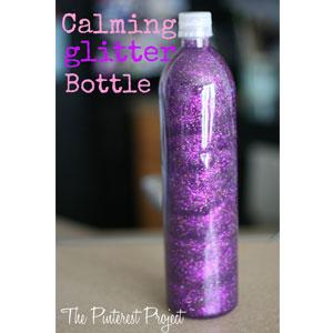 Glitter Bottle | Sensory Ninja